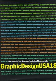 Cover of: Graphic Design USA 18: The Annual of the American Institute of Graphic Arts (365: Aiga Year in Design)