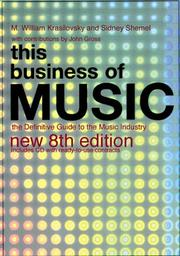 Cover of: This Business of Music