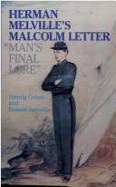 Cover of: Herman Melville's Malcolm Letter