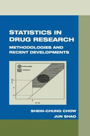 Cover of: Statistics in Drug Research