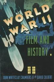 Cover of: World War II, film, and history