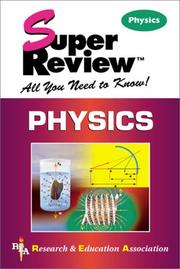 Cover of: Physics Super Review