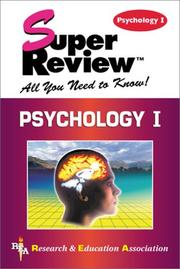 Cover of: Psychology I Super Review