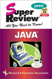 Cover of: Java Super Review w/ CD-ROM (Super Reviews)