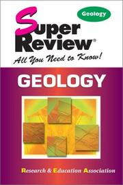 Cover of: Geology Super Review (Super Reviews)