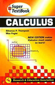Cover of: Calculus Super Textbook (Super Textbooks)
