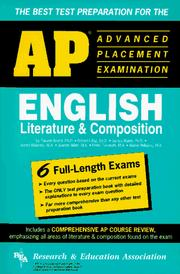 Cover of: AP English Literature & Composition (REA) - The Best Test Prep for the AP Exam