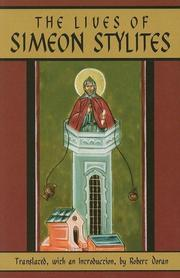 Cover of: The lives of Simeon Stylites