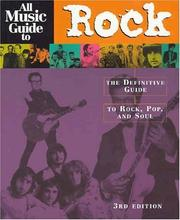 Cover of: All music guide to rock