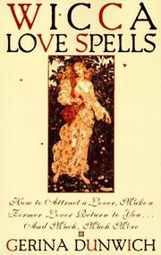 Cover of: Wicca love spells