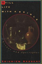 Cover of: Still life with a bridle: essays and apocryphas