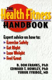 Cover of: The Health Fitness Handbook