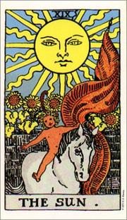 Cover of: Giant Rider-Waite Tarot Deck