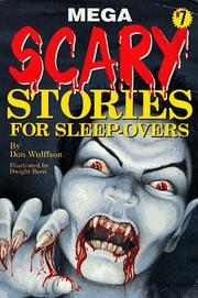 Cover of: Mega scary stories for sleep-overs