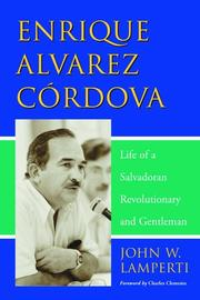 Cover of: Enrique Alvarez