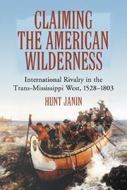 Cover of: Claiming the American wilderness