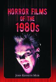 Cover of: Horror Films of the 1980s