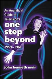 Cover of: Analytical Guide to Television's One Step Beyond, 1959-1961