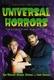 Cover of: Universal Horrors