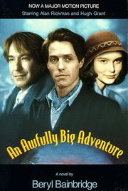 Cover of: An Awfully Big Adventure (Bainbridge, Beryl)
