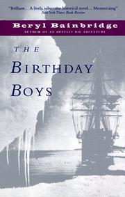 Cover of: The Birthday Boys (Bainbridge, Beryl)