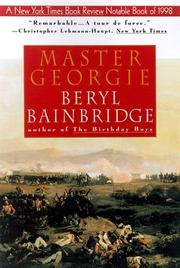 Cover of: Master Georgie (Bainbridge, Beryl)