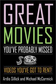 Cover of: Great Movies You've Probably Missed