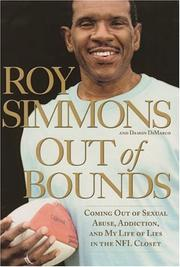 Cover of: Out of Bounds: Coming out of Sexual Abuse, Addiction, and My Life of Lies in the NFL Closet
