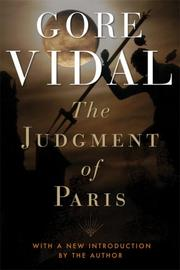Cover of: The judgment of Paris