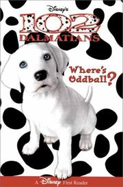 Cover of: Disney's 102 Dalmatians: Where's Oddball? (Disney First Reader)