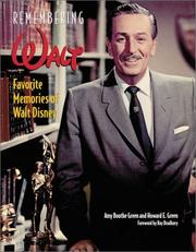 Cover of: Remembering Walt