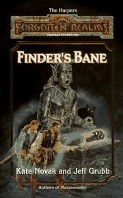 Cover of: Finder's Bane (Forgotten Realms Lost Gods, Vol. 1)