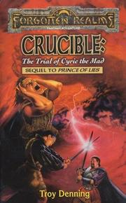 Cover of: Crucible: The Trial of Cyric the Mad (Forgotten Realms: The Avatar)