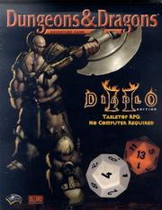 Cover of: Diablo II Tabletop RPG Box Set (Dungeons & Dragons)