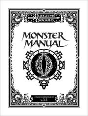 Cover of: Monster Manual