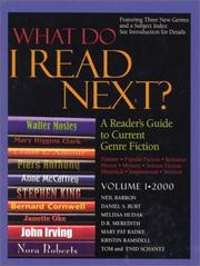 Cover of: What Do I Read Next? 2000