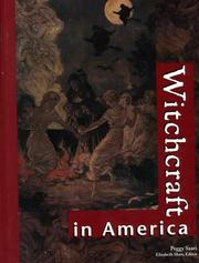 Cover of: Witchcraft in America Edition 1
