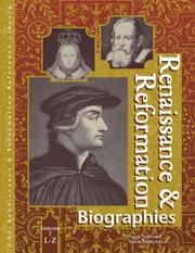 Cover of: Renaissance and Reformation