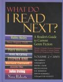 Cover of: What Do I Read Next? 2003