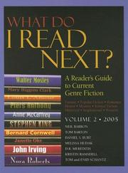 Cover of: What Do I Read Next 2005