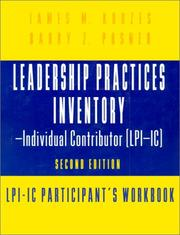Cover of: Leadership Practices Inventory