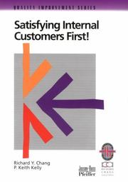 Cover of: Satisfying Internal Customers First!