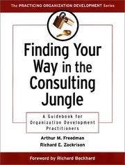 Cover of: Finding Your Way in the Consulting Jungle