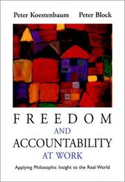 Cover of: Freedom and accountability at work