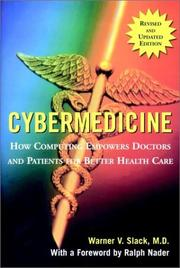Cover of: Cybermedicine
