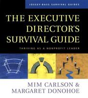 Cover of: The Executive Director's Survival Guide
