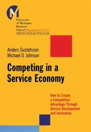 Cover of: Competing in a Service Economy