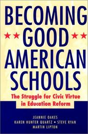 Cover of: Becoming Good American Schools