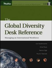 Cover of: The Global Diversity Desk Reference