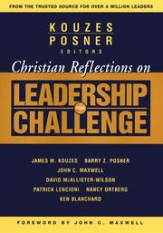 Cover of: Christian reflections on The leadership challenge